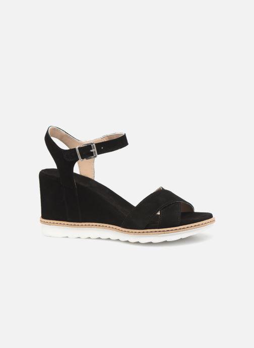 Sandales et nu-pieds Khrio 11046 Noir vue derrière