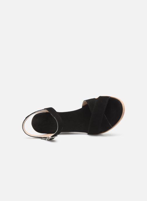 Sandales et nu-pieds Khrio 11046 Noir vue gauche