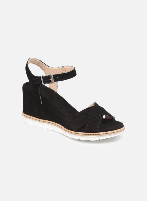 Sandales et nu-pieds Khrio 11046 Noir vue détail/paire