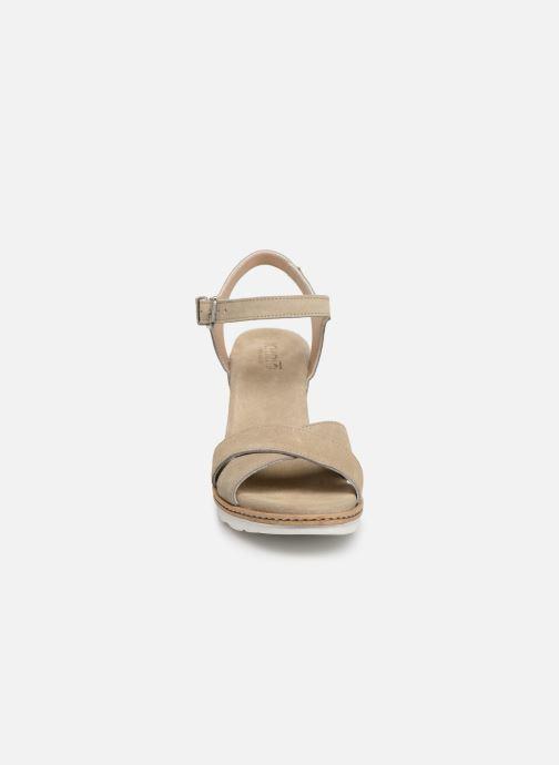 Sandali e scarpe aperte Khrio 11046 Beige modello indossato
