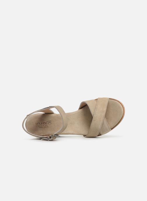 Sandali e scarpe aperte Khrio 11046 Beige immagine sinistra