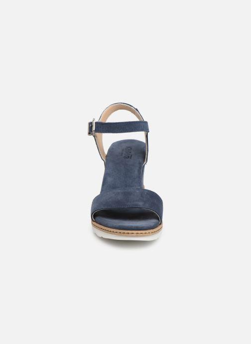 Sandales et nu-pieds Khrio 11048 Bleu vue portées chaussures