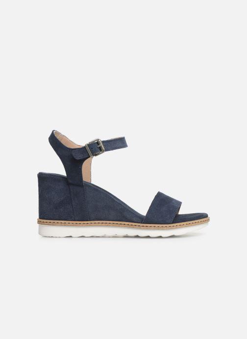 Sandales et nu-pieds Khrio 11048 Bleu vue derrière