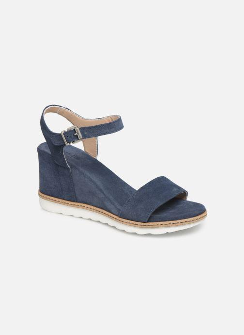 Sandales et nu-pieds Khrio 11048 Bleu vue détail/paire