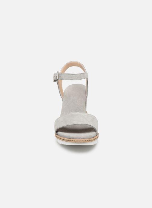 Sandalen Khrio 11048 grau schuhe getragen