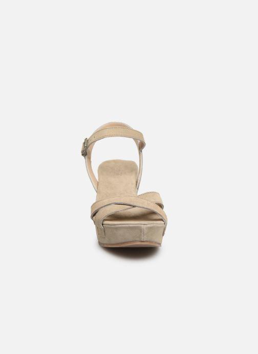 Sandalen Khrio 11052 beige schuhe getragen