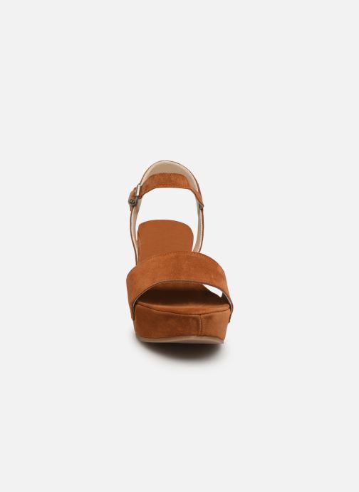 Sandalen Khrio 11053 orange schuhe getragen