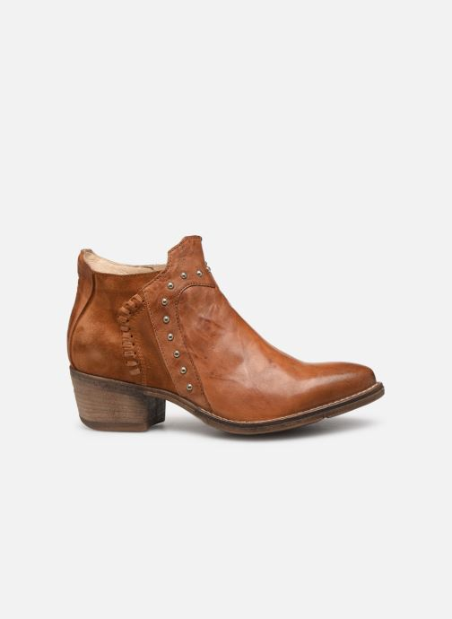 Ankle boots Khrio 11059 Brown back view