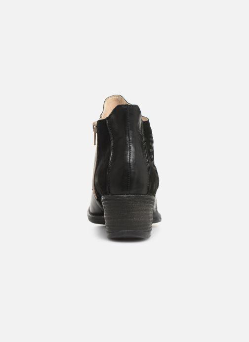 Ankelstøvler Khrio 11059 Sort Se fra højre