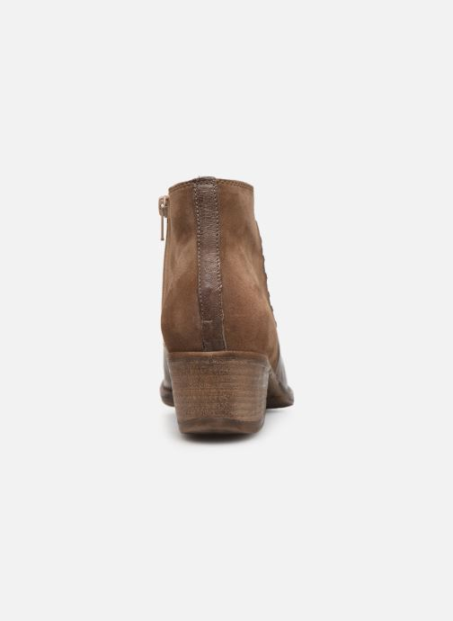 Ankle boots Khrio 11061 Brown view from the right