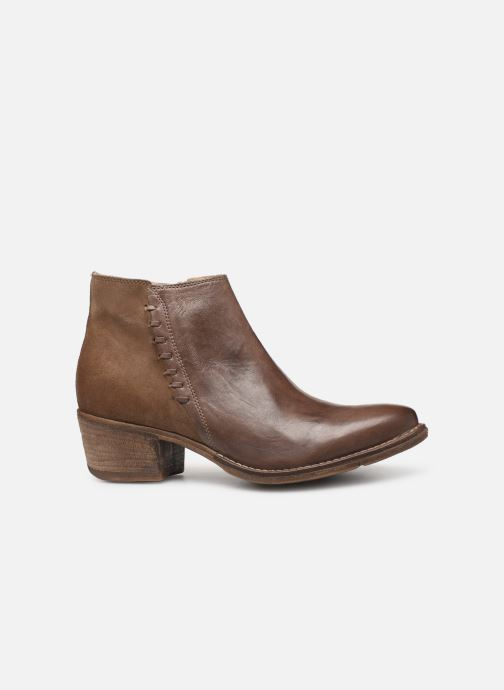Ankle boots Khrio 11061 Brown back view