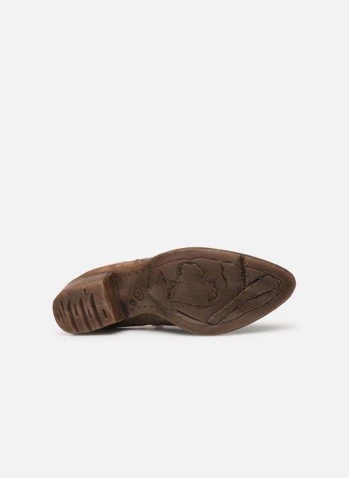 Ankle boots Khrio 11061 Brown view from above