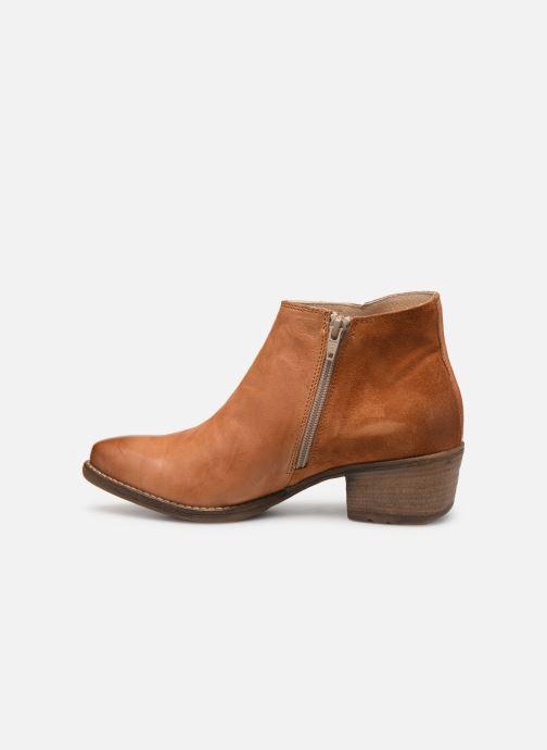 Bottines et boots Khrio 11061 Orange vue face