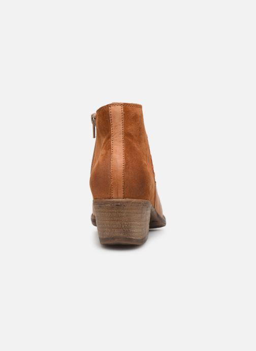 Bottines et boots Khrio 11061 Orange vue droite