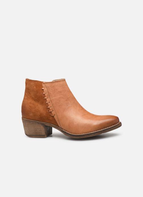 Bottines et boots Khrio 11061 Orange vue derrière