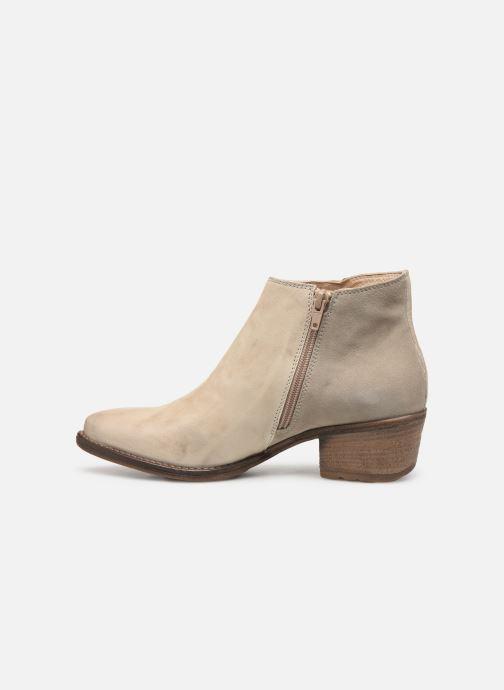 Boots en enkellaarsjes Khrio 11061 Beige voorkant