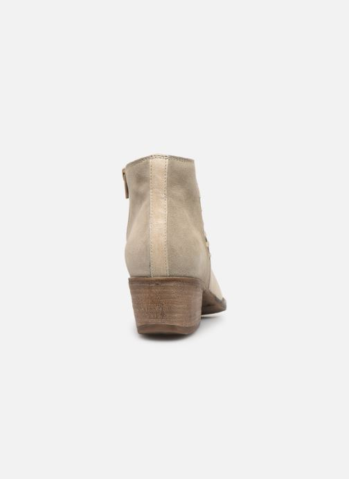 Bottines et boots Khrio 11061 Beige vue droite