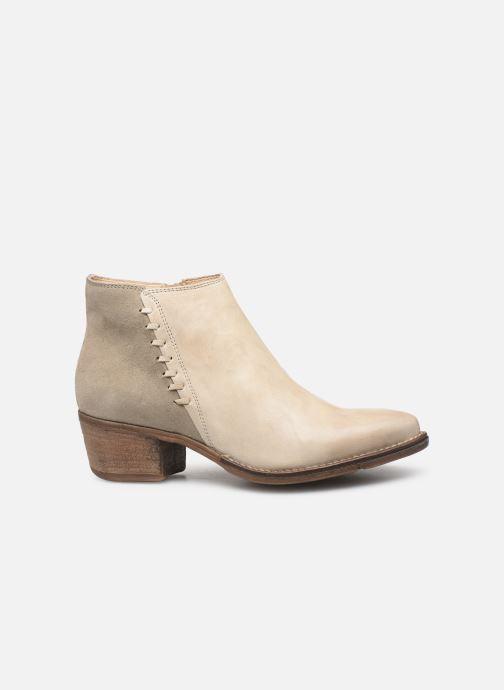 Boots en enkellaarsjes Khrio 11061 Beige achterkant