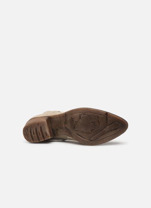 Bottines et boots Khrio 11061 Beige vue haut