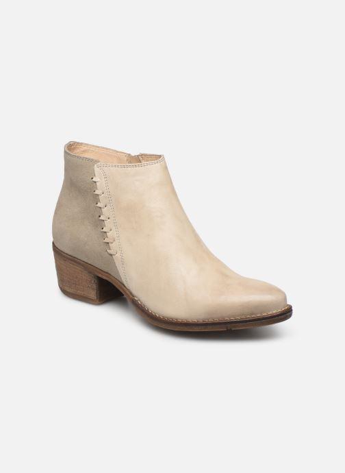 Bottines et boots Khrio 11061 Beige vue détail/paire