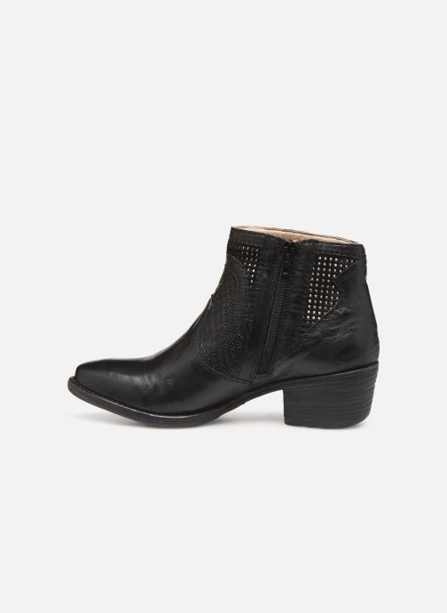 Boots en enkellaarsjes Khrio 11062 Zwart voorkant