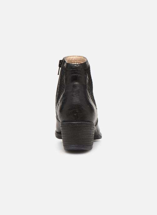 Ankle boots Khrio 11062 Black view from the right