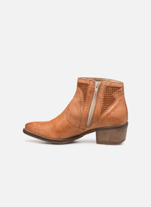 Bottines et boots Khrio 11062 Orange vue face