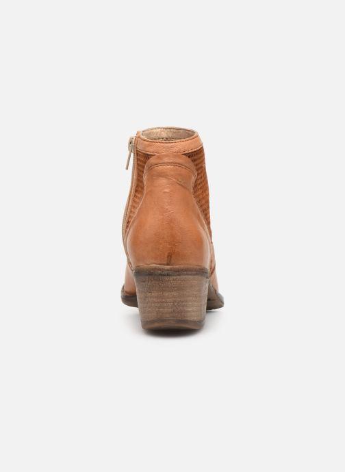 Bottines et boots Khrio 11062 Orange vue droite