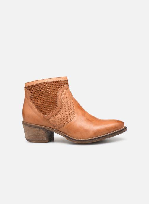 Bottines et boots Khrio 11062 Orange vue derrière