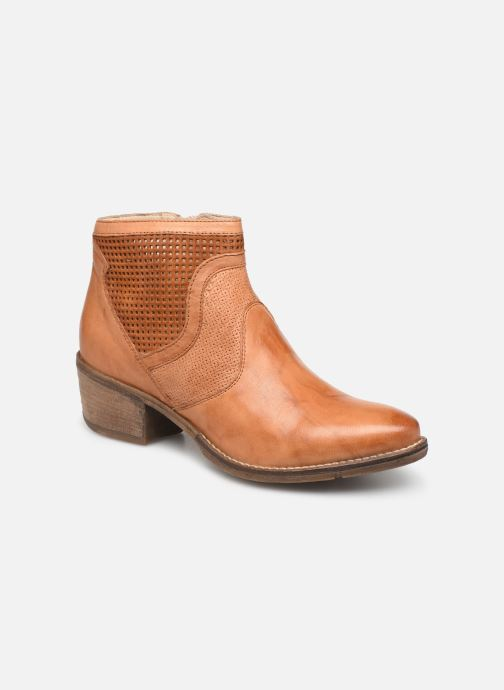 Bottines et boots Khrio 11062 Orange vue détail/paire