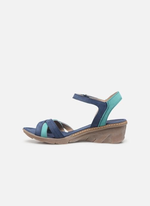 Sandali e scarpe aperte Khrio 11066 Azzurro immagine frontale