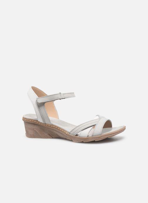 Sandales et nu-pieds Khrio 11066 Blanc vue derrière