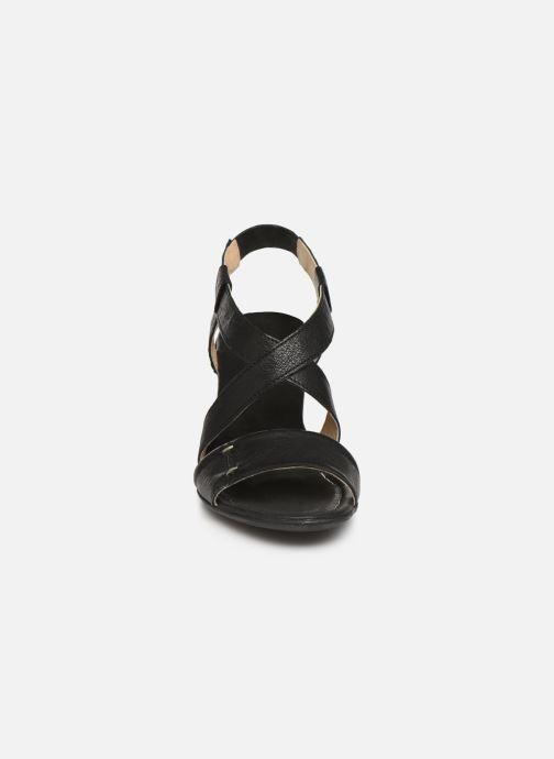 Sandales et nu-pieds Khrio 11070 Noir vue portées chaussures