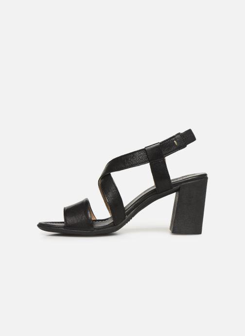 Sandales et nu-pieds Khrio 11070 Noir vue face