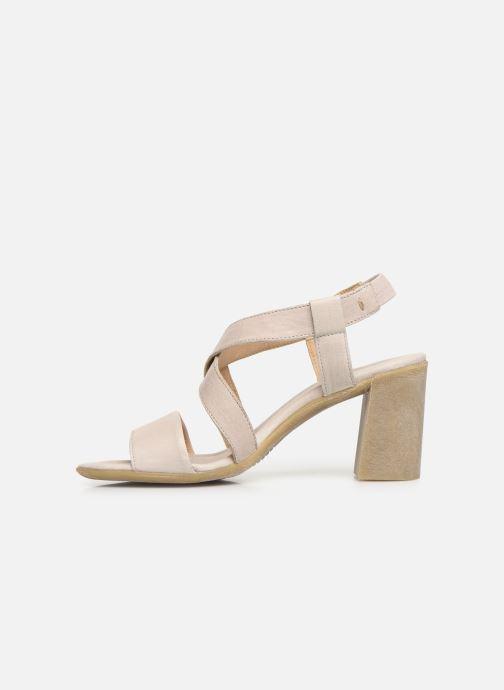 Sandales et nu-pieds Khrio 11070 Beige vue face