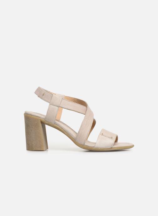 Sandales et nu-pieds Khrio 11070 Beige vue derrière