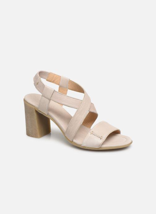 Sandales et nu-pieds Khrio 11070 Beige vue détail/paire