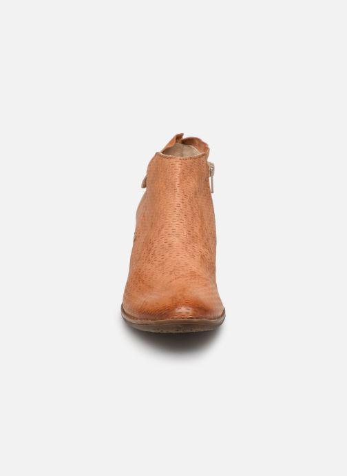 Bottines et boots Khrio 11078 Orange vue portées chaussures