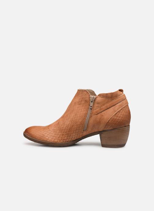 Bottines et boots Khrio 11078 Orange vue face
