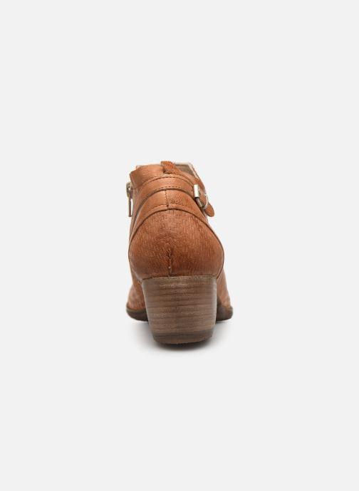 Bottines et boots Khrio 11078 Orange vue droite