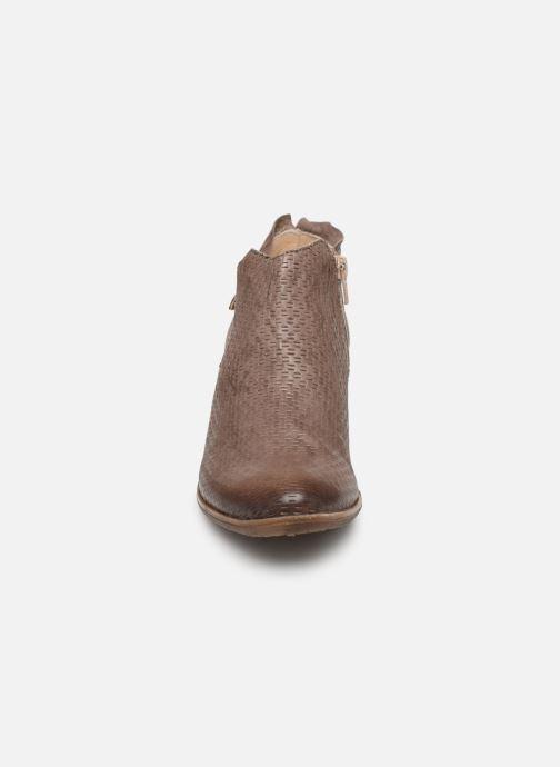 Bottines et boots Khrio 11078 Marron vue portées chaussures