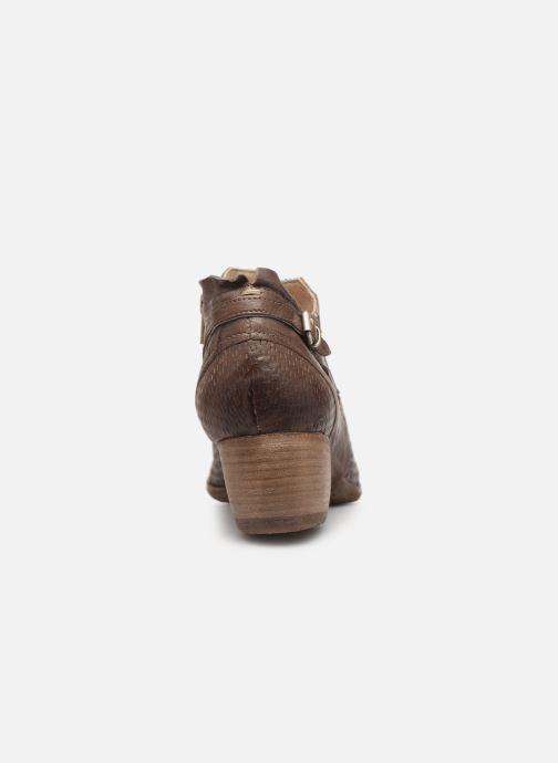 Bottines et boots Khrio 11078 Marron vue droite