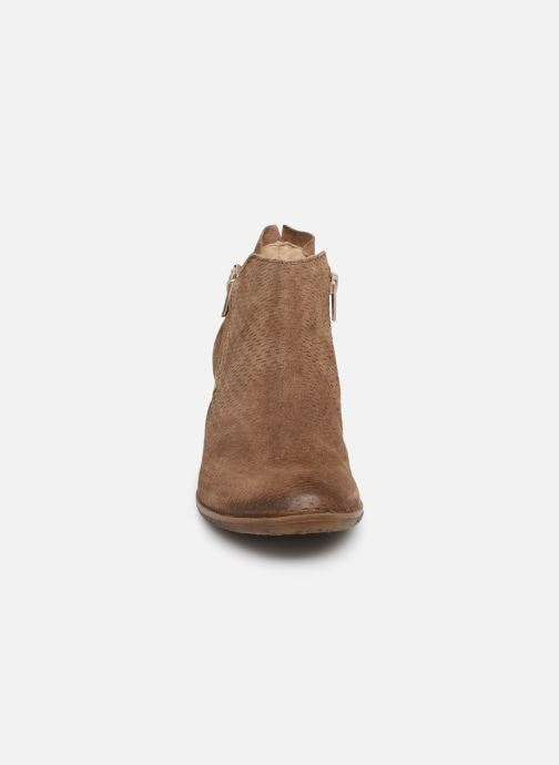 Ankle boots Khrio 11078 Brown model view
