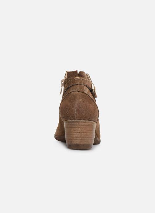 Ankelstøvler Khrio 11078 Brun Se fra højre