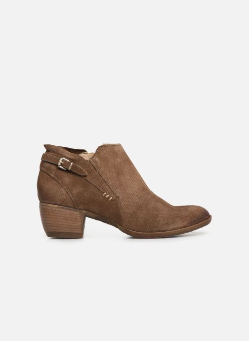 Ankle boots Khrio 11078 Brown back view