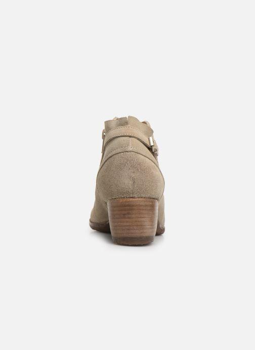 Boots en enkellaarsjes Khrio 11078 Beige rechts