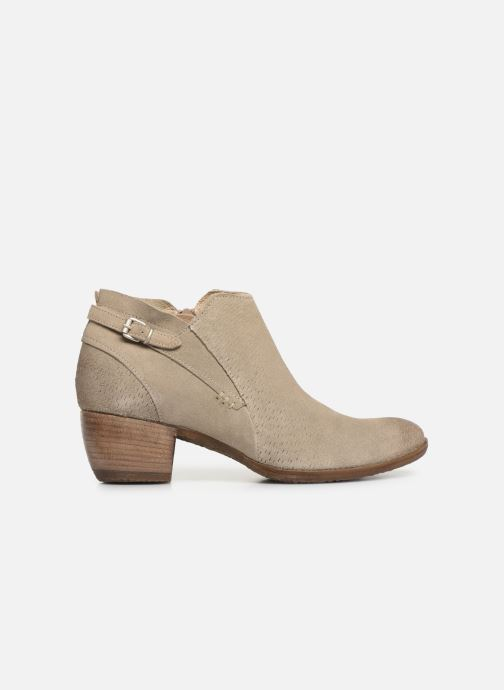 Boots en enkellaarsjes Khrio 11078 Beige achterkant