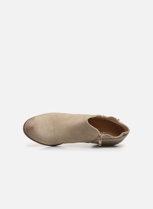 Boots en enkellaarsjes Khrio 11078 Beige links