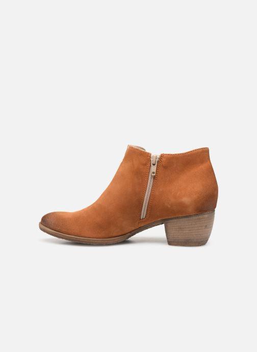 Bottines et boots Khrio 11079 Orange vue face