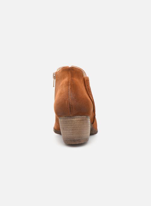 Bottines et boots Khrio 11079 Orange vue droite